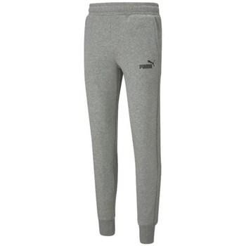 Clothing Men Tracksuit bottoms Puma Essentials Slim Grey