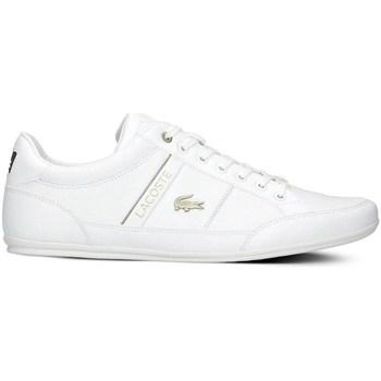 Shoes Men Low top trainers Lacoste Chaymon White