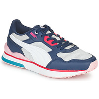Shoes Women Low top trainers Puma FUTURE White / Grey / Blue / Red