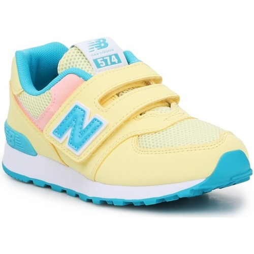 Shoes Children Low top trainers New Balance 574 Yellow