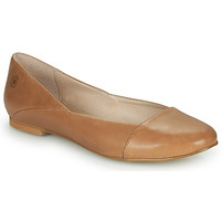 Shoes Women Flat shoes Casual Attitude TOBALO Brown