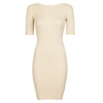 Clothing Women Short Dresses Yurban PAULINO Beige