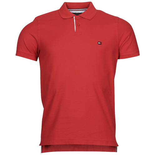 Clothing Men Short-sleeved polo shirts Tommy Hilfiger 1986 CONTRAST PLACKE, XLG Red