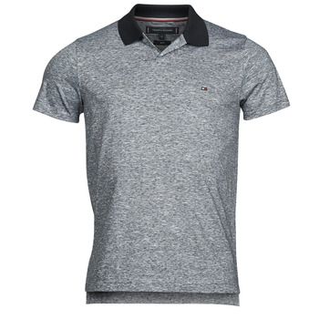 Clothing Men Short-sleeved polo shirts Tommy Hilfiger LINEN JERSEY SLIM PO, DW5 Blue