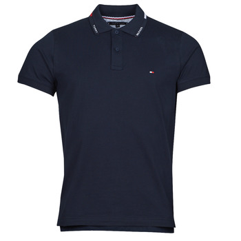 Clothing Men Short-sleeved polo shirts Tommy Hilfiger 1986 HILFIGER COLLAR, DW5 Black