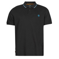 Clothing Men Short-sleeved polo shirts Timberland BRAND CARRIER POLO Black
