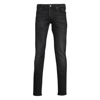Clothing Men Slim jeans Jack & Jones JJIGLENN Black