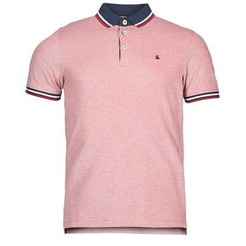 Clothing Men Short-sleeved polo shirts Jack & Jones JJEPAULOS Red