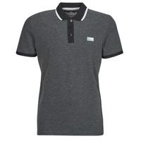 Clothing Men Short-sleeved polo shirts Jack & Jones JCOCHARMING Black