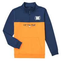 Clothing Girl Sweaters Vans SOLAL Blue / Yellow