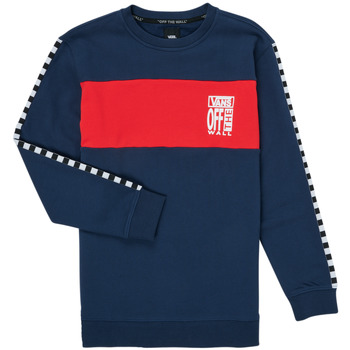 Clothing Girl Sweaters Vans SOLAL Blue / Red