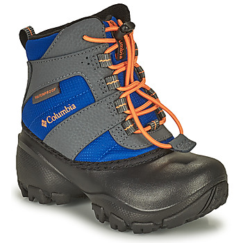 Shoes Children Snow boots Columbia CHILDRENS ROPE TOW Blue / Orange
