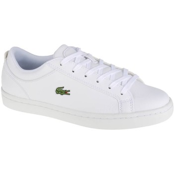 Shoes Women Low top trainers Lacoste Straightset BL 1 White