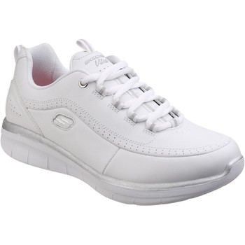 Shoes Women Low top trainers Skechers SK12363 Synergy 2.0 White and Silver