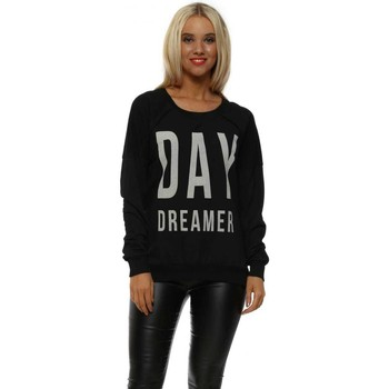 Clothing Women Sweaters A Postcard From Brighton Black Day Dreamer Sweater Black