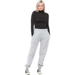 Clothing Women Tracksuit bottoms Boutique Grey Classic Relaxed Joggers Grey