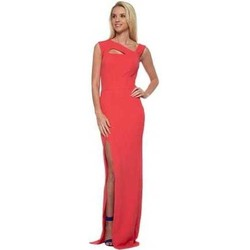 Clothing Women Long Dresses Honor Gold Lexi Strappy Coral Maxi Dress Orange