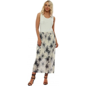 Clothing Women Skirts A Postcard From Brighton Mae Coconut Floral Maxi Skirt White