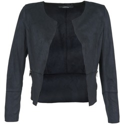 Clothing Women Leather jackets / Imitation leather Only KIM MARINE