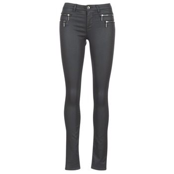 Clothing Women 5-pocket trousers Only NEW OLIVIA COATED Black