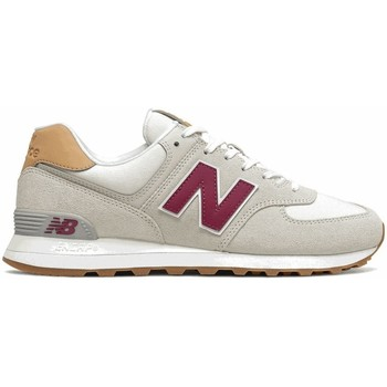 Shoes Men Low top trainers New Balance 574 Beige