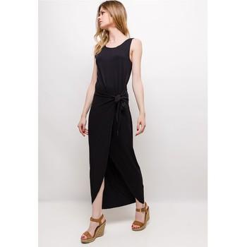 Clothing Women Long Dresses Fashion brands ERMD-1682-NEW-NOIR Black
