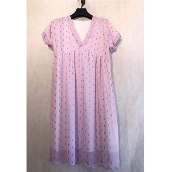 Clothing Women Short Dresses Fashion brands BY80-LILAS Lilac