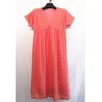 Clothing Women Short Dresses Fashion brands BY80-CORAIL Coral