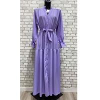 Clothing Women Long Dresses Fashion brands 2155-LILAS Lilac