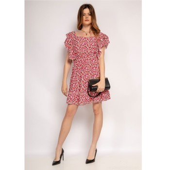 Clothing Women Short Dresses Fashion brands 573-ROUGE Red