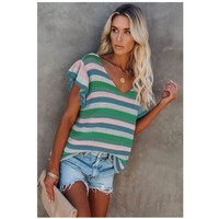 Clothing Women Tops / Blouses Fashion brands DL2514986-GREEN Green