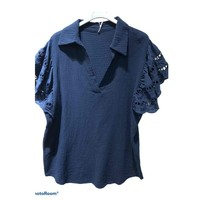 Clothing Women Tops / Blouses Fashion brands 310311-NAVY Marine