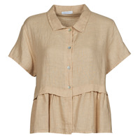 Clothing Women Tops / Blouses Fashion brands 10998-BEIGE Beige
