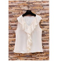 Clothing Women Tops / Blouses Fashion brands ERMD-13797-CP-BLANC White