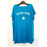 Clothing Women Tops / Blouses Fashion brands V132ED-TURQUOISE Turquoise