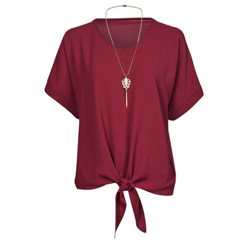 Clothing Women Tops / Blouses Fashion brands BY32-PINK Pink