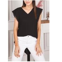 Clothing Women Tops / Blouses Fashion brands F2106-BLACK Black