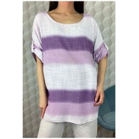 Clothing Women Tops / Blouses Fashion brands 156485V-LILAC Lilac