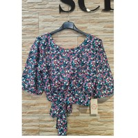 Clothing Women Tops / Blouses Fashion brands F508-BLUE Blue