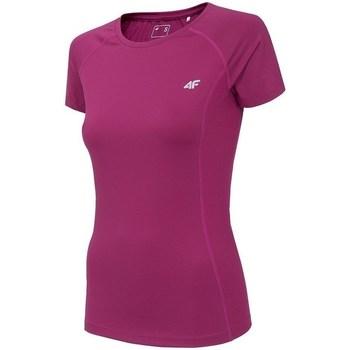 Clothing Women Short-sleeved t-shirts 4F TSDF002 Pink