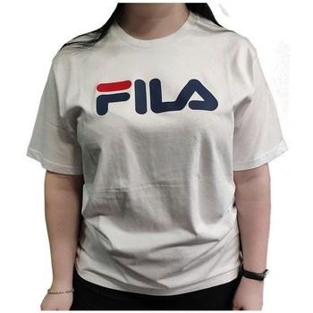 Clothing Short-sleeved t-shirts Fila Classic Pure White