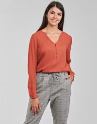 Clothing Women Tops / Blouses Betty London PISSINE Rust