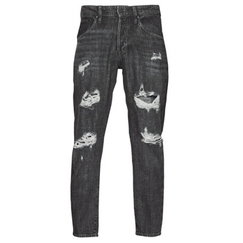 Clothing Men Slim jeans Jack & Jones JJIFRANK JJLEEN Black