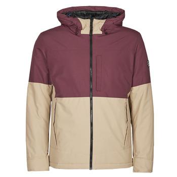 Clothing Men Jackets Jack & Jones JORBOBBY Purple / Brown