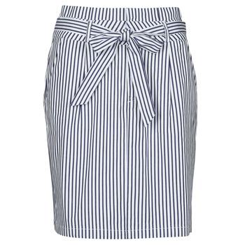 Clothing Women Skirts Vero Moda VMEVA Blue / White