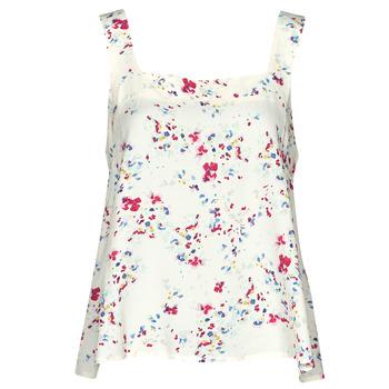 Clothing Women Tops / Blouses Vero Moda VMMILA Beige