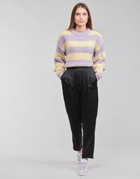 Clothing Women Wide leg / Harem trousers Vero Moda VMKYRA Black