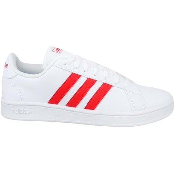 Shoes Men Low top trainers adidas Originals Grand Court Base White