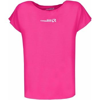 Clothing Women Short-sleeved t-shirts Rock Experience T-shirt Femme  Re.Spirit rose fluo