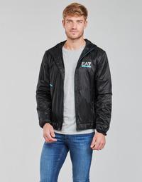 Clothing Men Jackets Emporio Armani EA7 SOLLILA Black